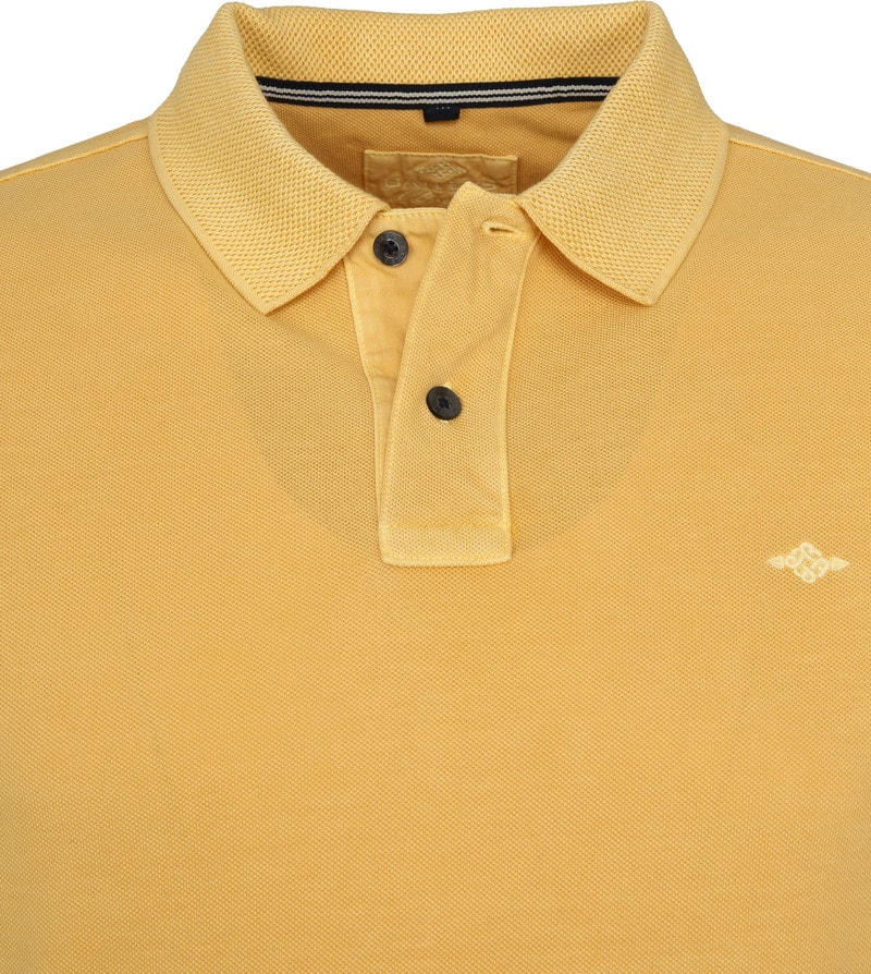 Suitable Vintage Poloshirt Geel foto 1