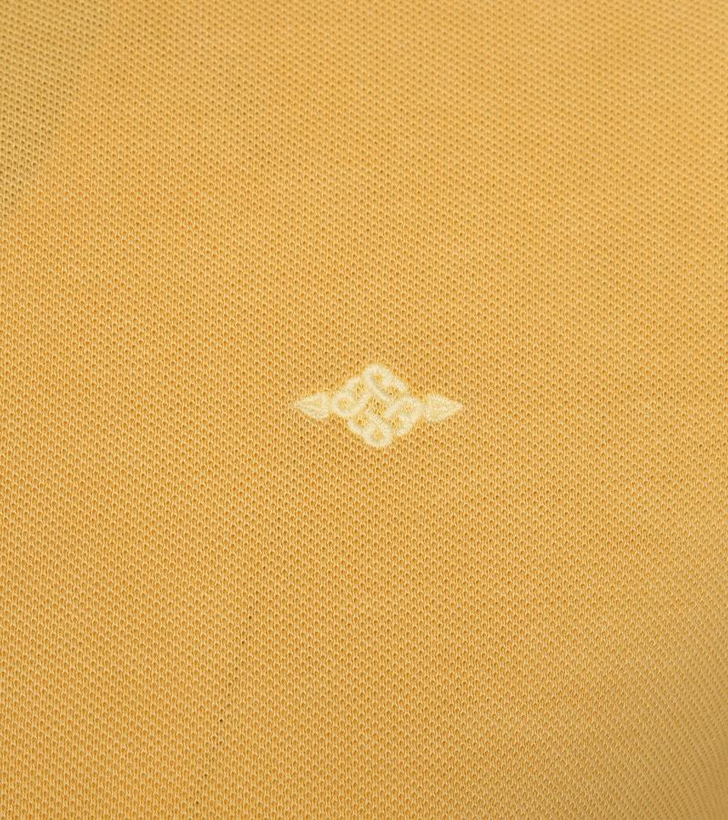 Suitable Vintage Poloshirt Geel foto 2