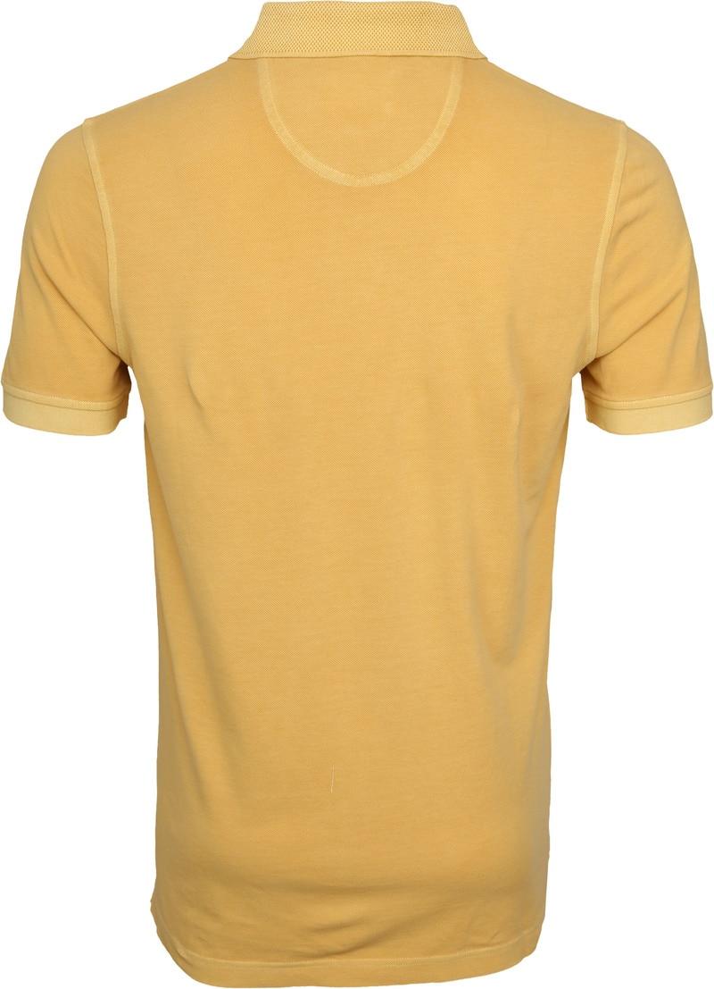 Suitable Vintage Poloshirt Geel foto 3
