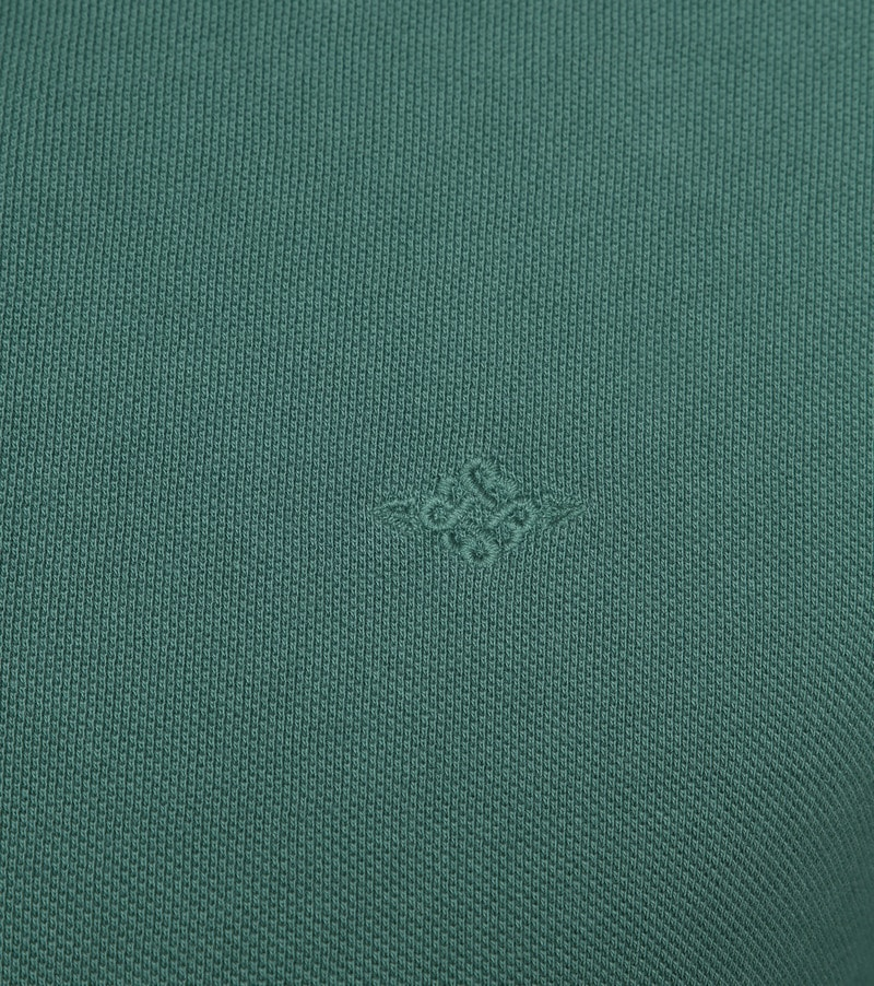 Suitable Vintage Poloshirt Groen foto 2