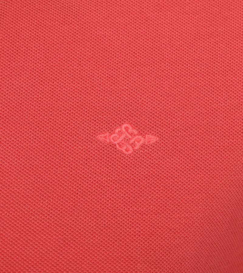 Suitable Vintage Poloshirt Koraal foto 2