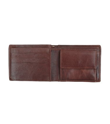 Suitable Wallet Dax Brown Leather - Skim Proof photo 2