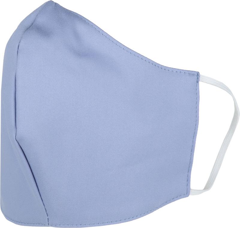 Suitable Waschbar Mundkappe Blau Dessin Foto 1