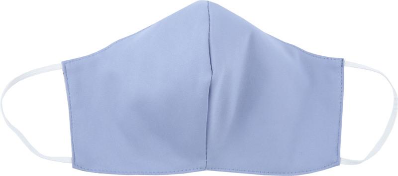 Suitable Waschbar Mundkappe Blau Dessin Foto 2