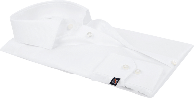 Suitable Wit Overhemd Slim Fit DR-01 foto 3