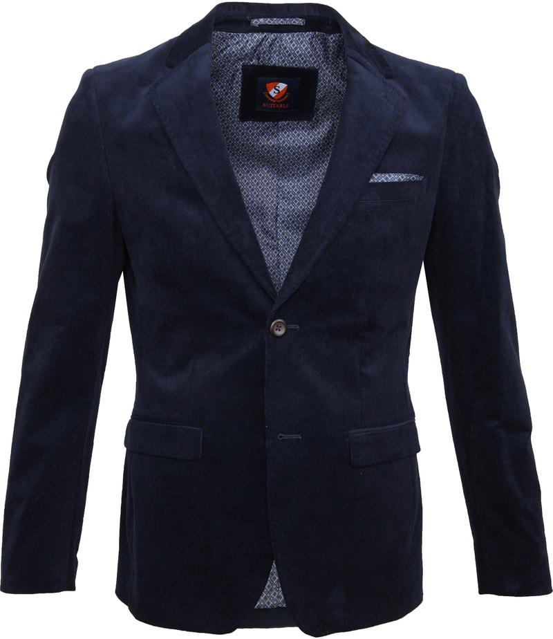 Suitable Xavi Blazer Dark Blue photo 0