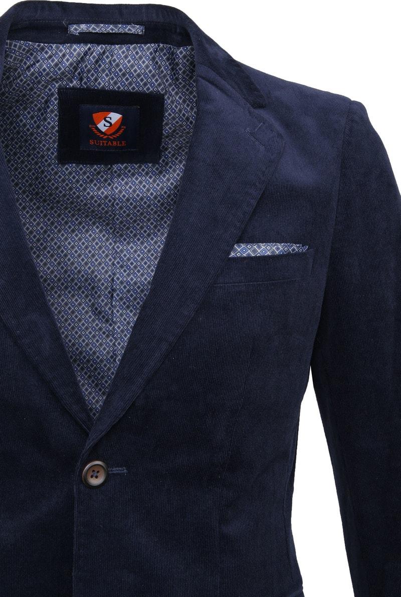 Suitable Xavi Blazer Dark Blue photo 1