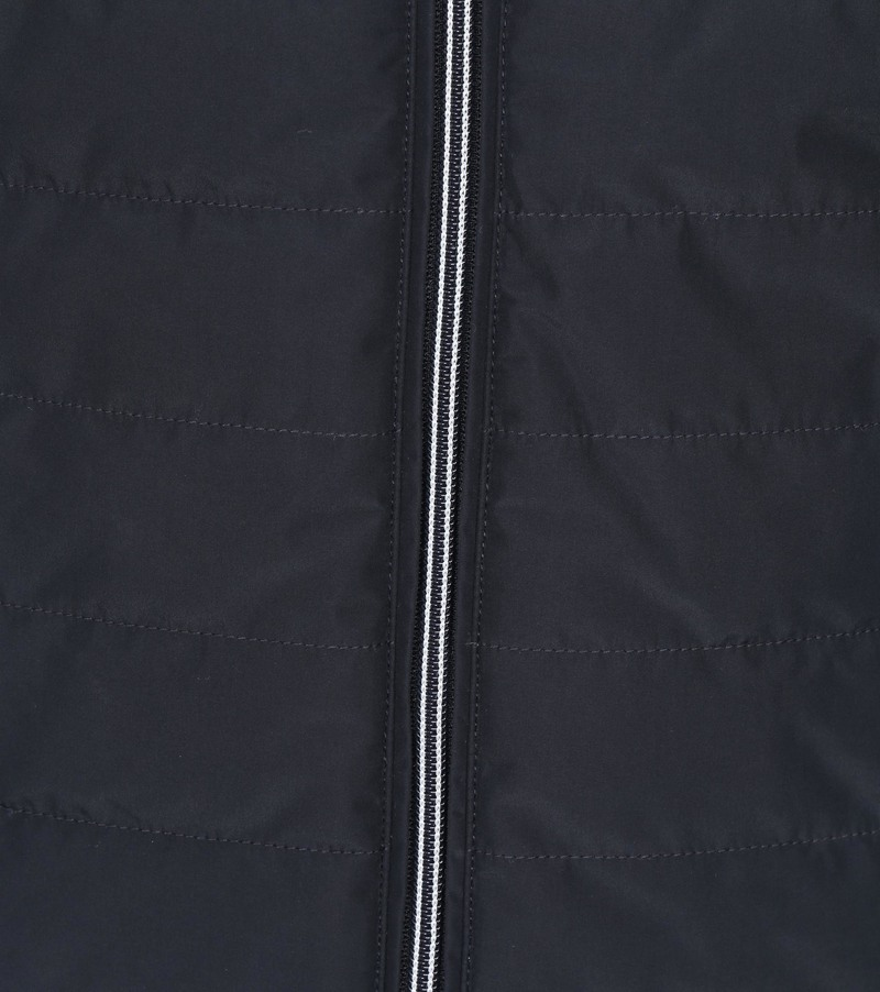 Suitable Zeno Puff Jack Donkerblauw - Blauw maat XL