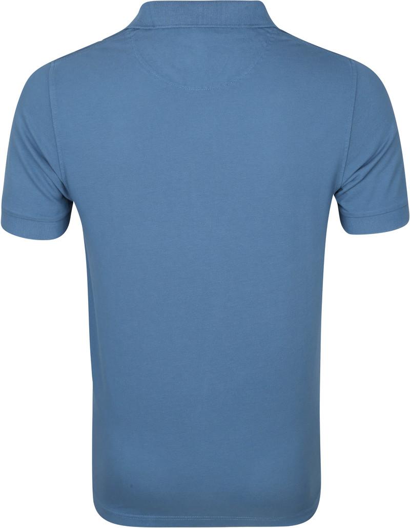 Sun68 Polo Cold Dye Blauw