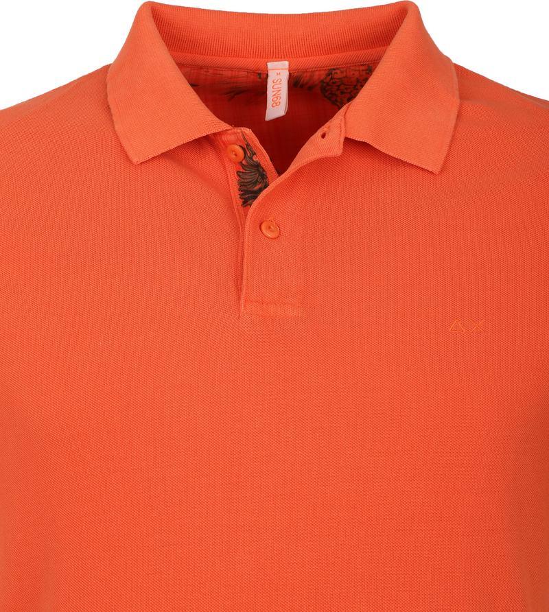 Sun68 Polo Cold Oranje
