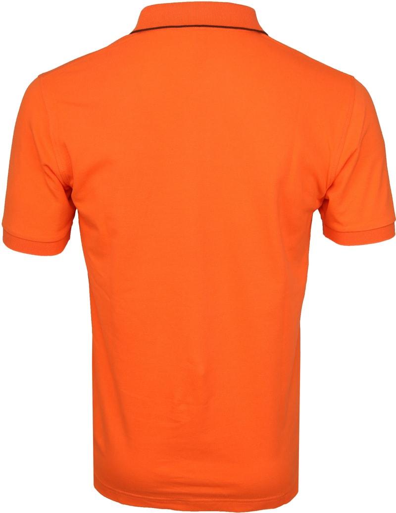 Sun68 Polo Small Stripe Orange SF