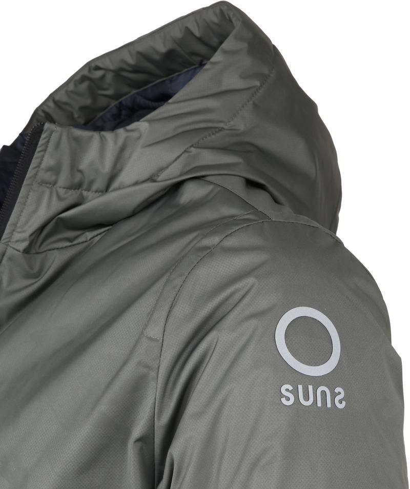 Sunstripes Jacket Padded Fly Army photo 2