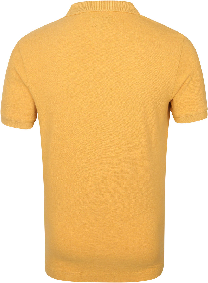 Superdry Classic Pique Polo Okergeel