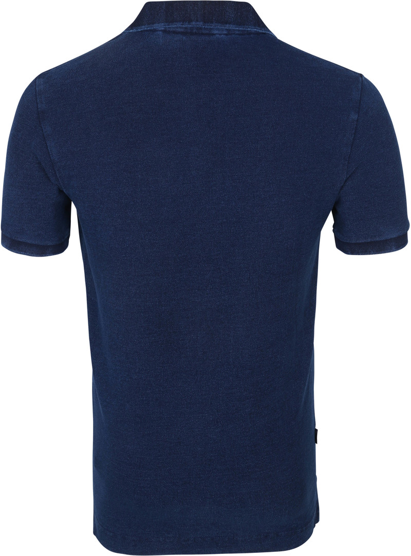 New Mens Superdry  City State Embroidery Polo Shirt Mini Aztec Navy
