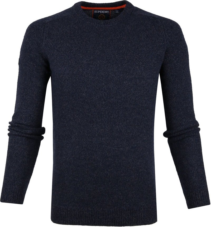 Superdry Harlo Crew Pullover Navy photo 0