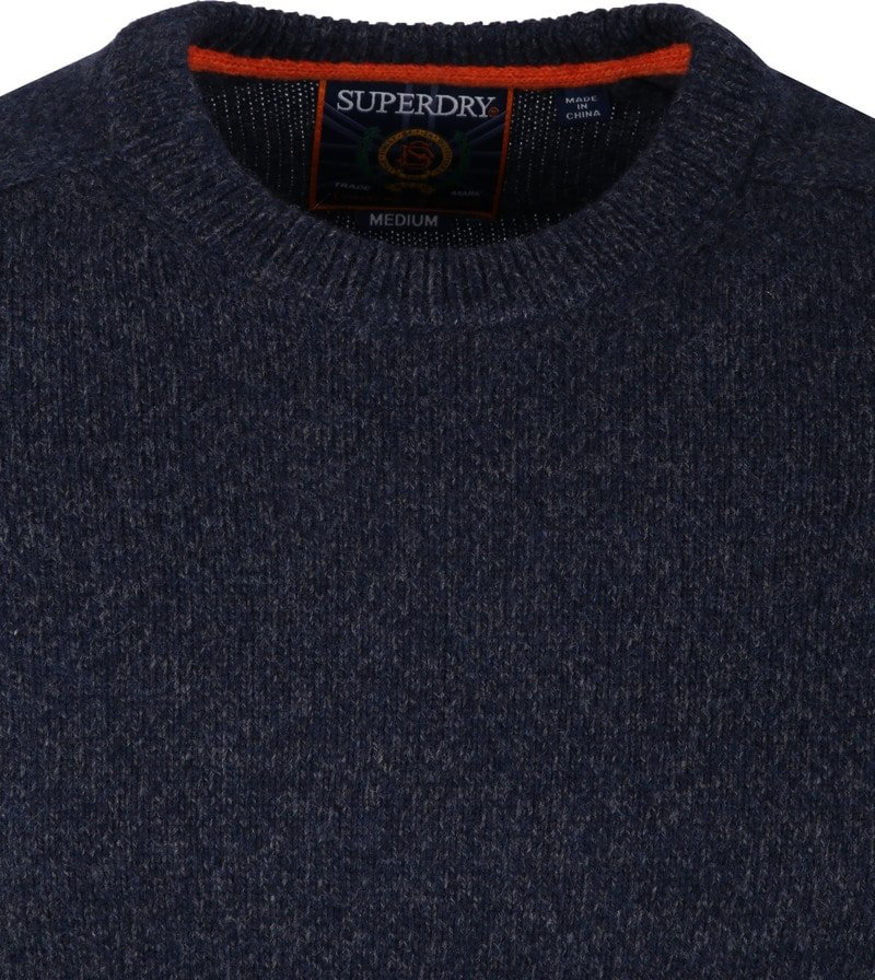 Superdry Harlo Crew Pullover Navy photo 1