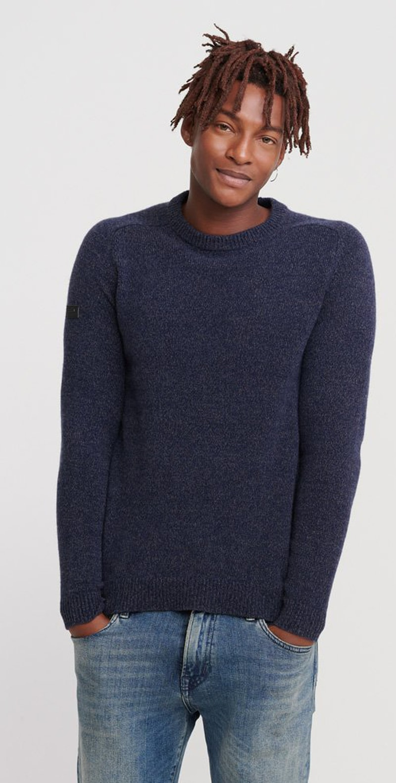 Superdry Harlo Crew Pullover Navy photo 4