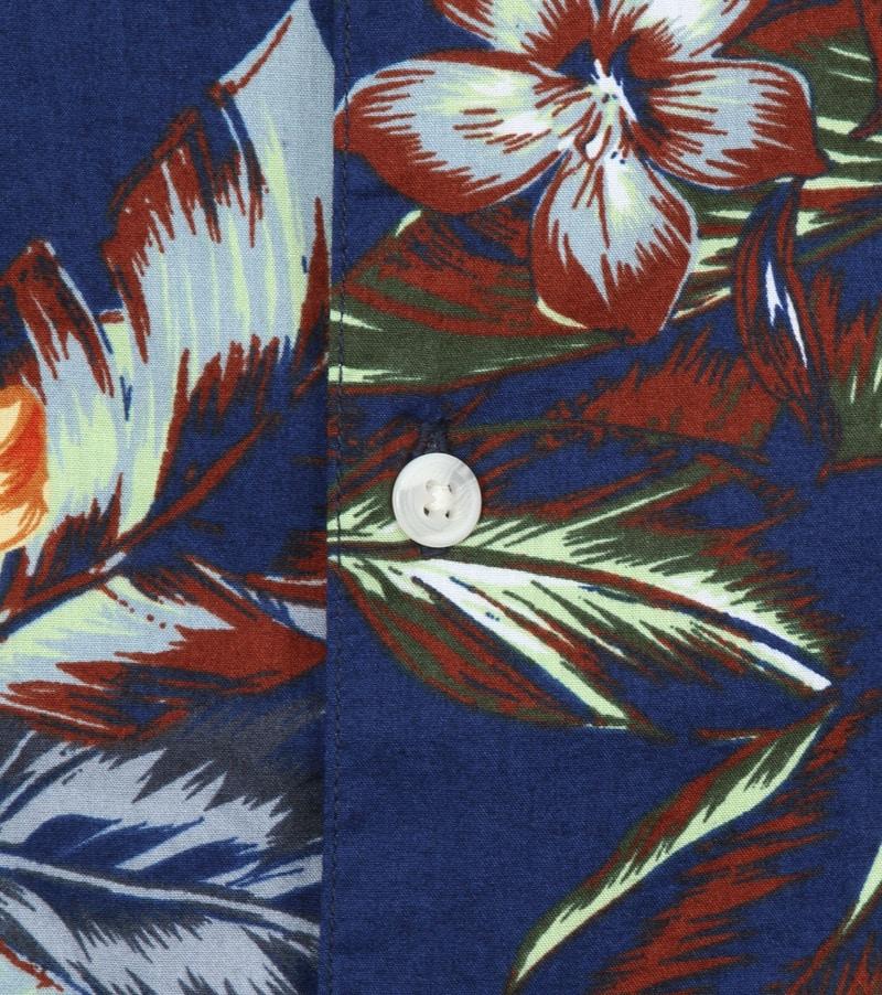 Superdry Overhemd Hawaiian Navy foto 2