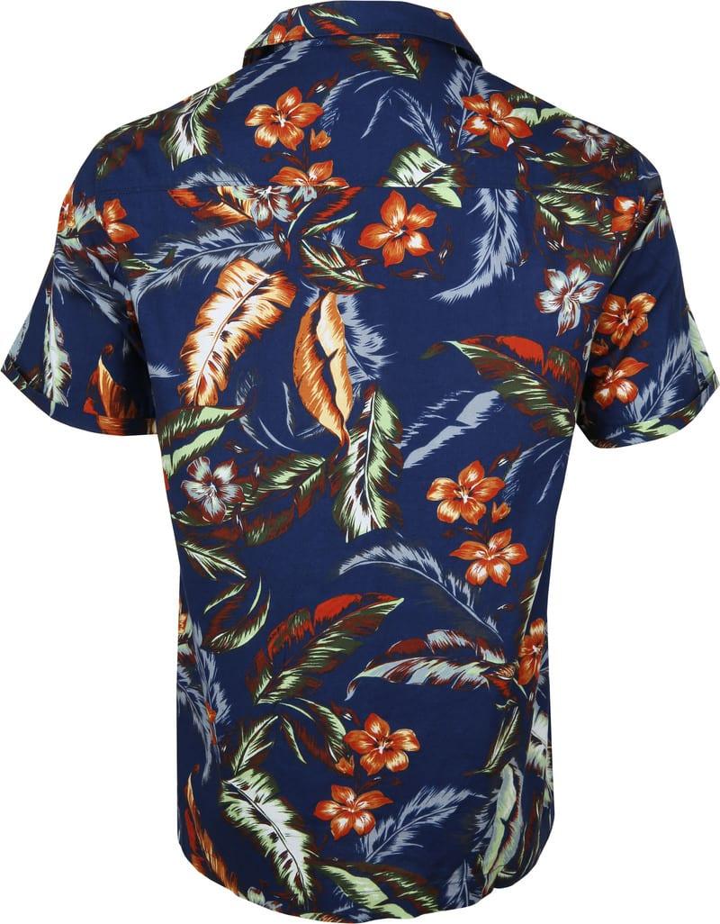 Superdry Overhemd Hawaiian Navy foto 3