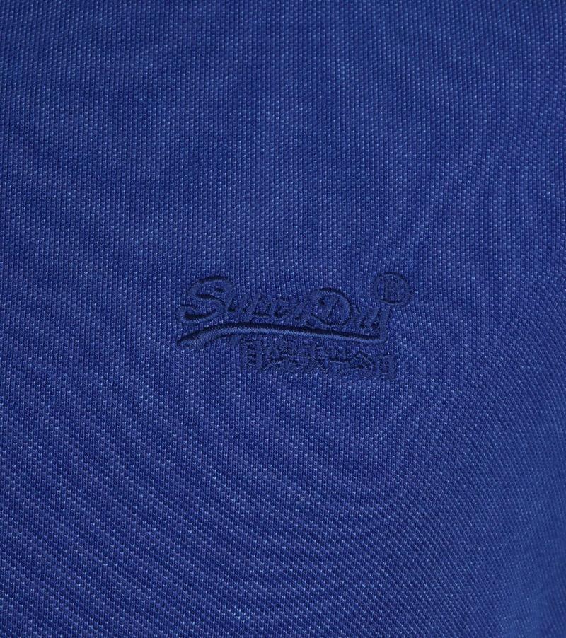 Superdry Polo Blauw foto 2