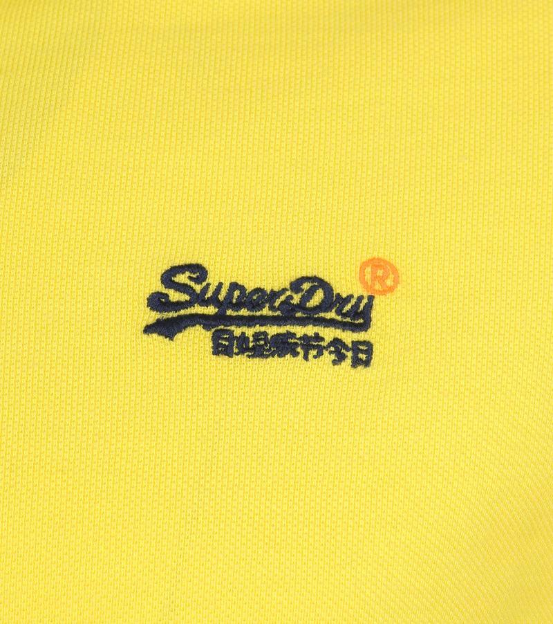 Superdry Polo Poolside Geel foto 2