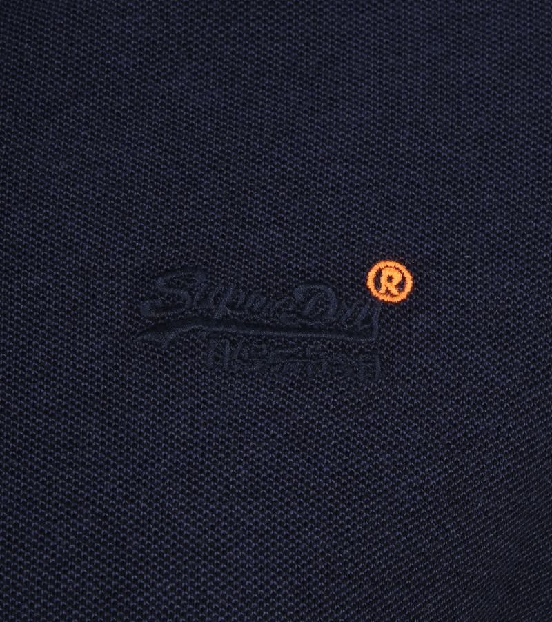 Superdry Polo Poolside Navy foto 2