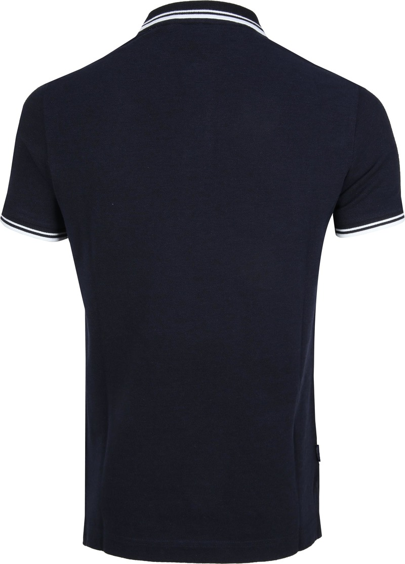 Superdry Polo Poolside Navy foto 3
