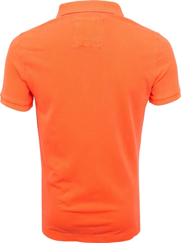 Superdry Poloshirt Fluor Orange photo 3