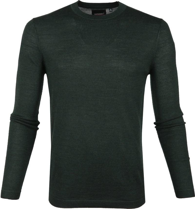 Superdry Pullover Merino Dark Green photo 0