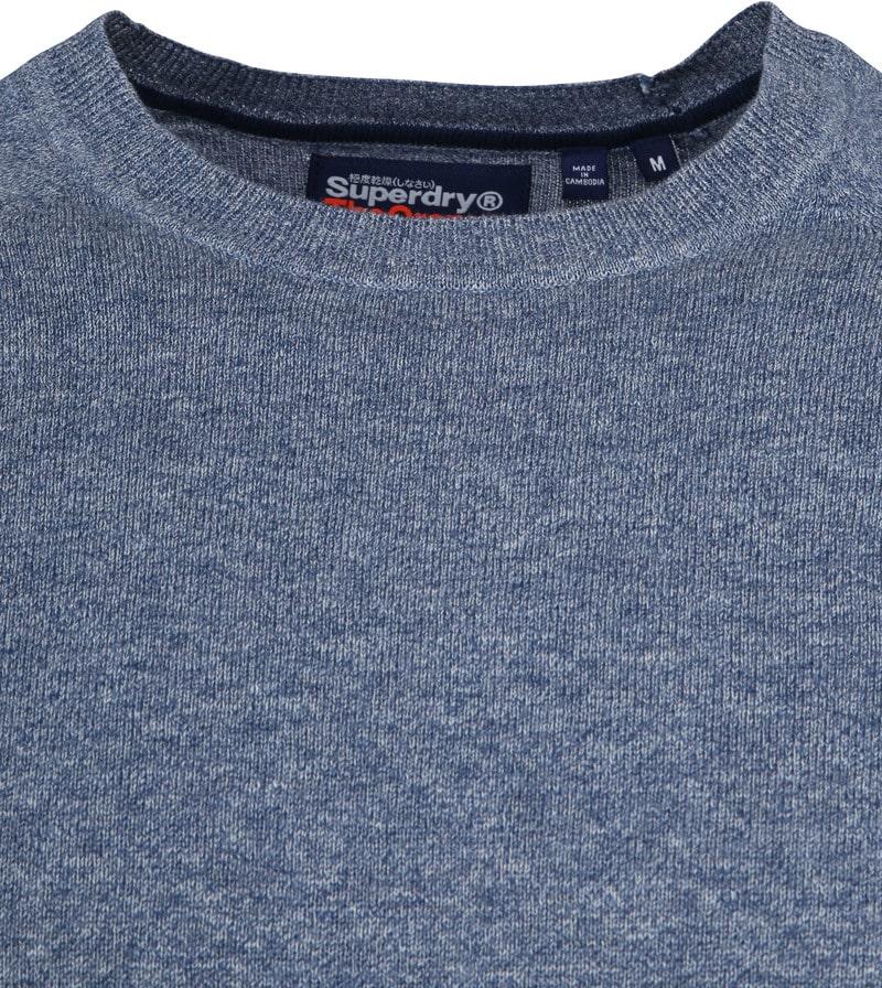 Superdry Pullover OL Cotton Crew Blauw foto 1