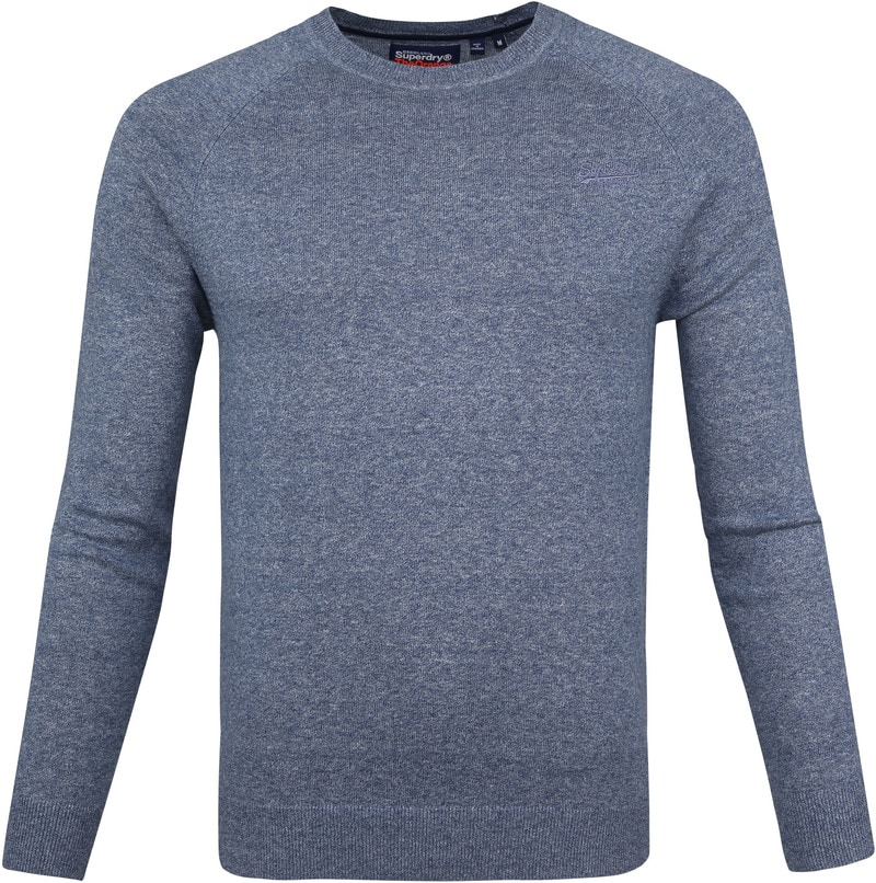 Superdry Pullover OL Cotton Crew Blue photo 0