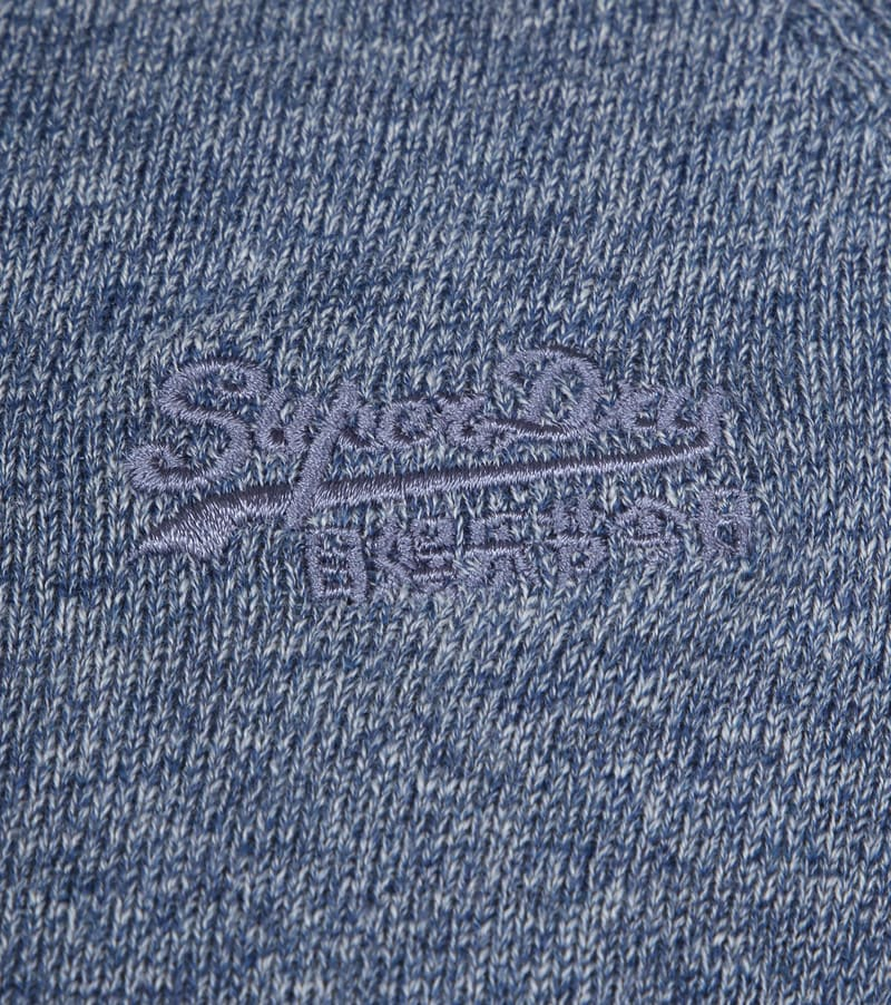 Superdry Pullover OL Cotton Crew Blue photo 2