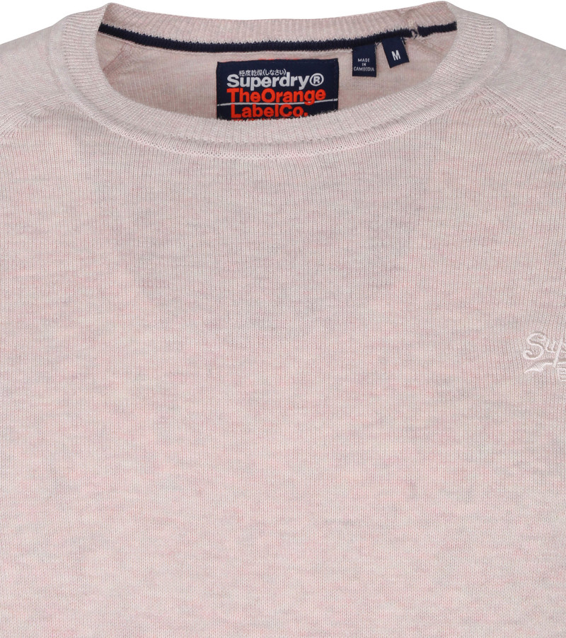 Superdry Pullover Orange Label Pink