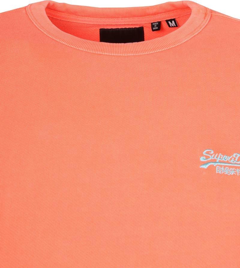 Superdry Sweater Pastelline Orange photo 1