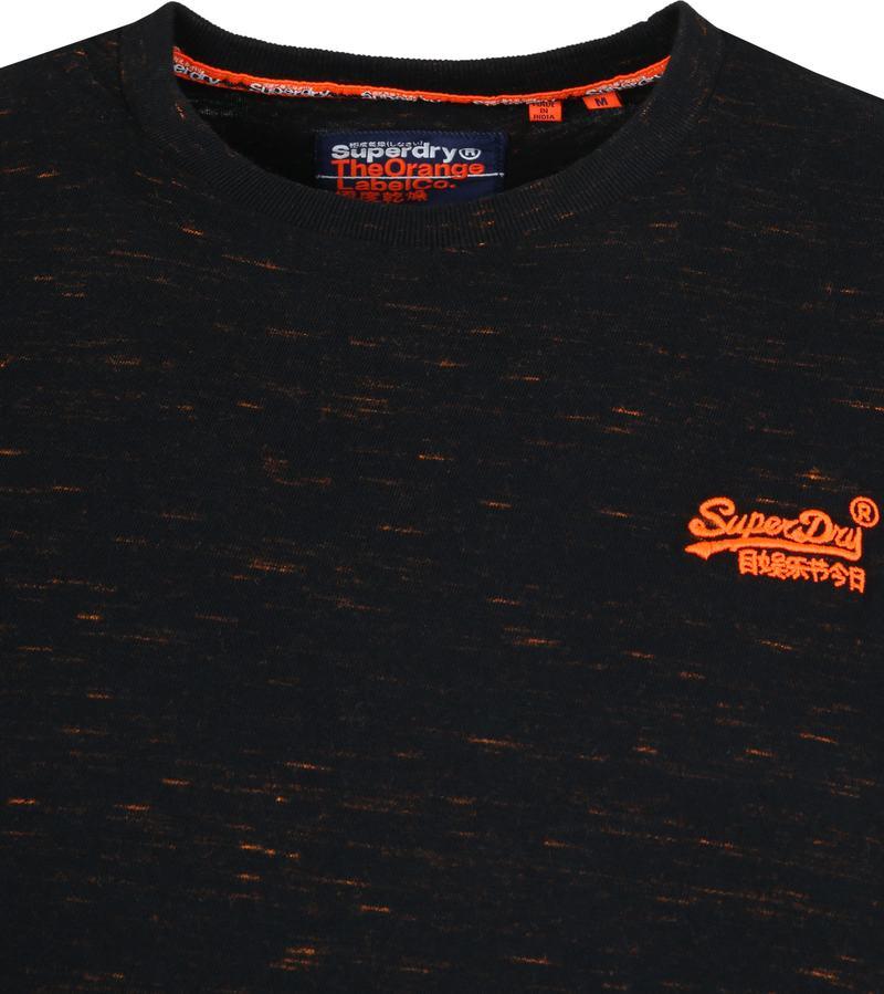 Superdry Vintage Crew T-Shirt Schwarz Foto 1