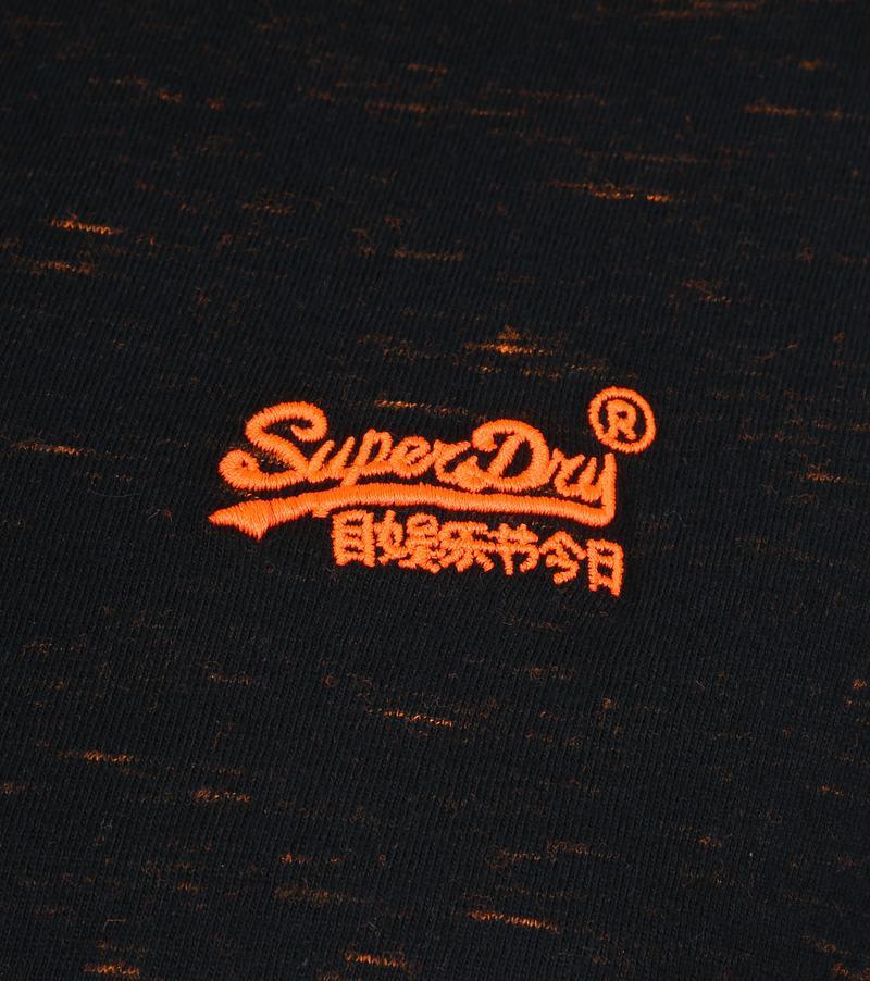 Superdry Vintage Crew T-Shirt Schwarz Foto 2