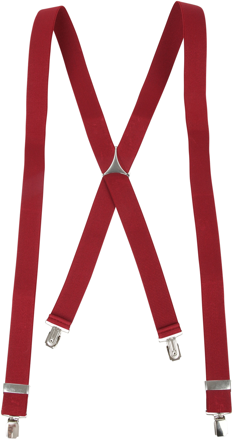 Suspenders Bordeaux photo 1