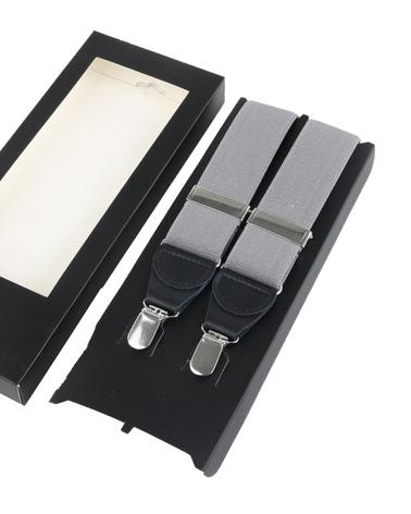 Suspenders Grey photo 2