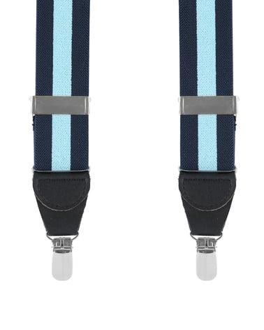 Suspenders Navy Blue Stipe photo 0