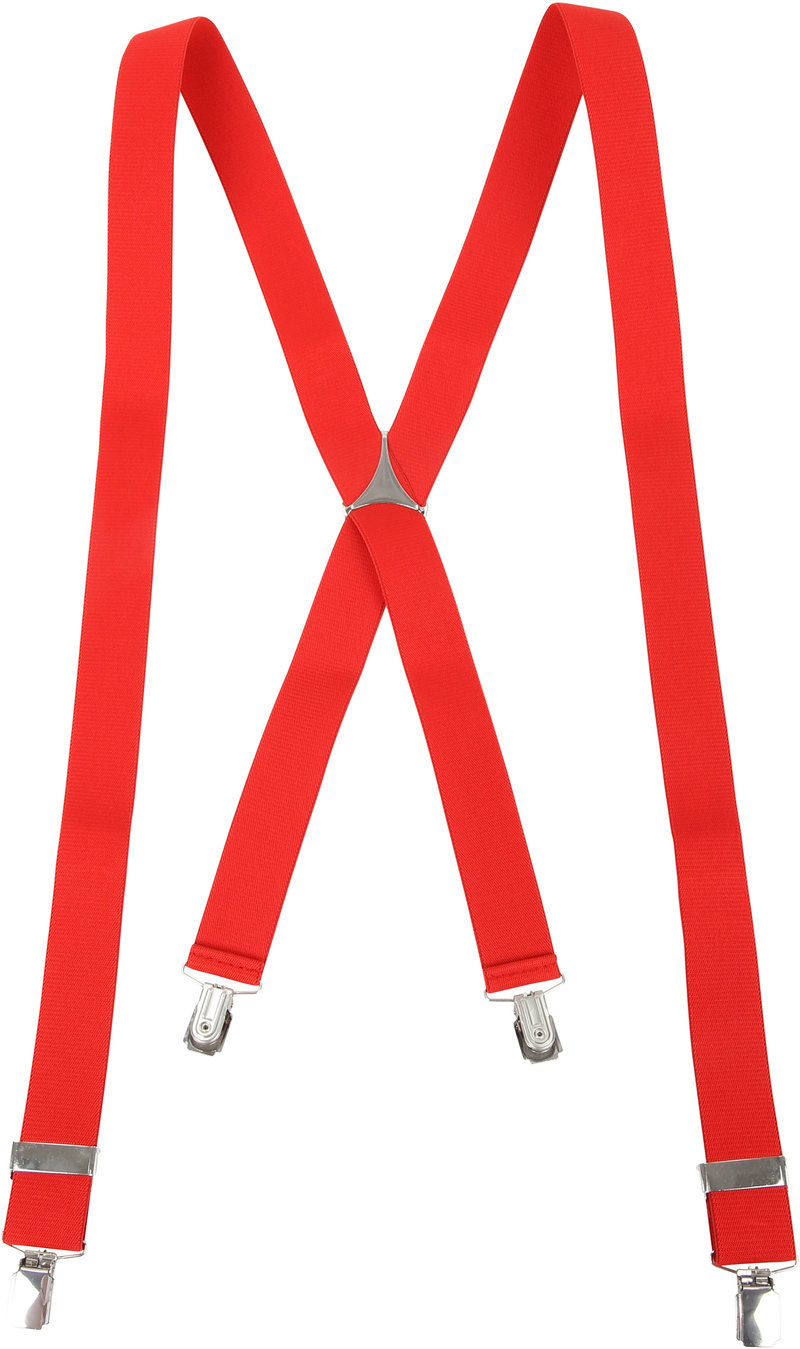 Suspenders Red photo 1