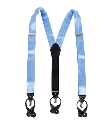 Suspenders Silk Blue F02 photo 1
