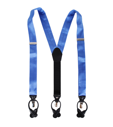 Suspenders Silk Blue F05 photo 1