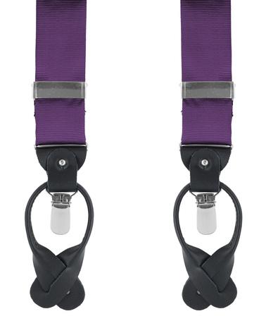 Suspenders Silk Dark Purple F62 photo 0