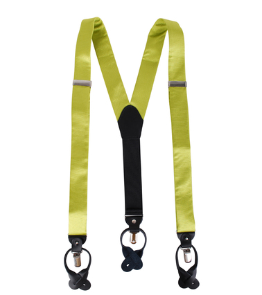 Suspenders Silm Lime Green F04 photo 1