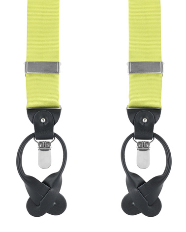 Suspenders Silm Lime Green F04 photo 0