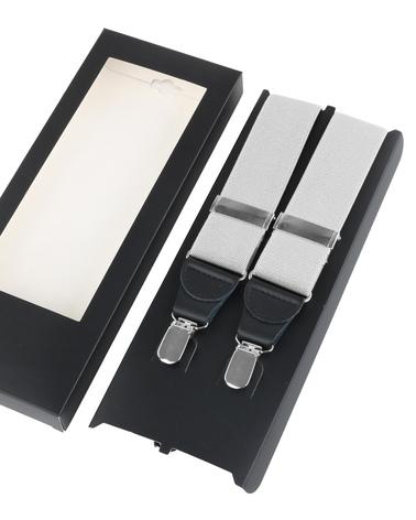 Suspenders White photo 2