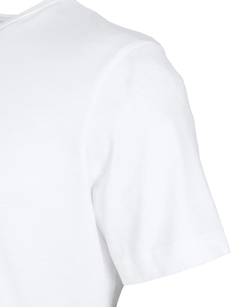 T-Shirt Rund Hals 6-Pack (6 Stück) Weiß Foto 4