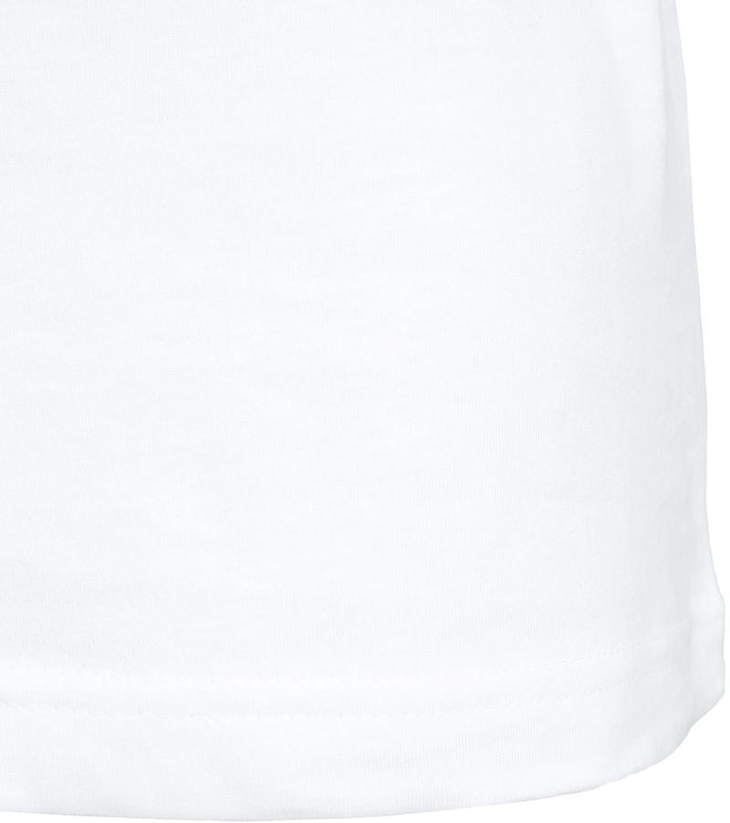 T-Shirt Rund Hals 6er Pack Weiß Foto 5