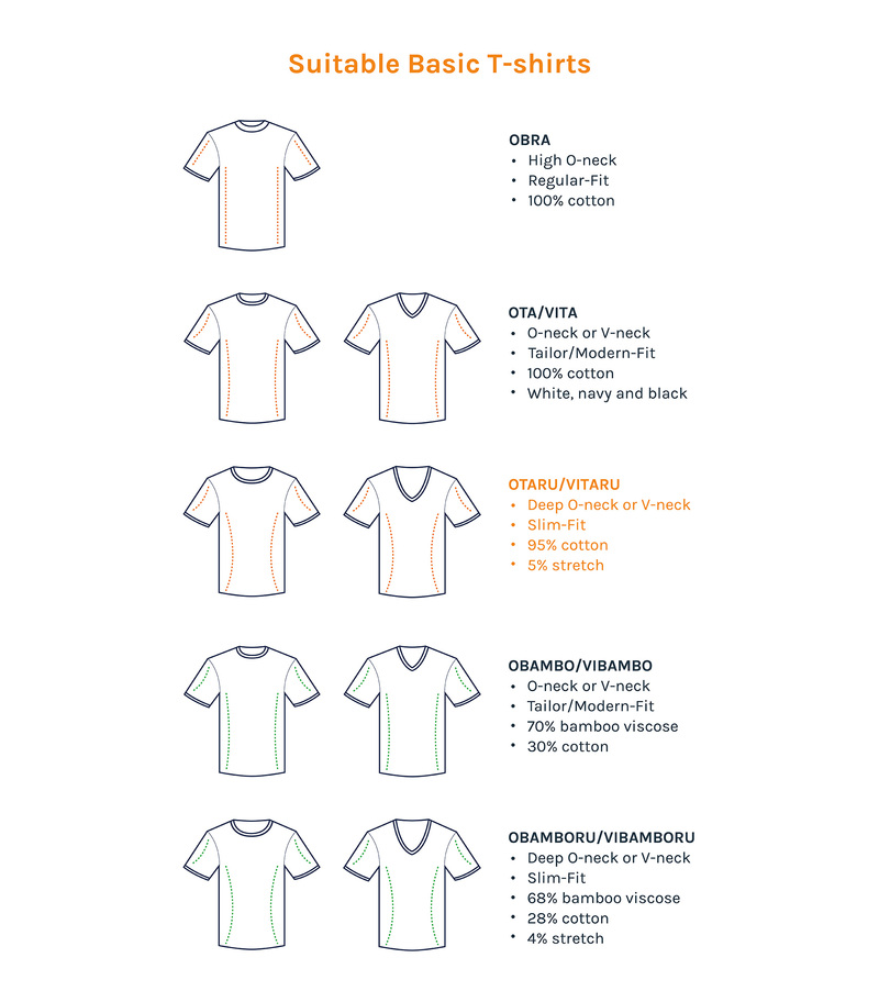 T-Shirt Tiefer V-Ausschnitt 4er Pack Stretch Weiß Foto 7