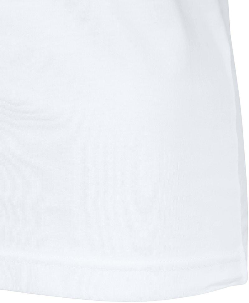 T-Shirt V-Ausschnitt 6er Pack Weiß Foto 4